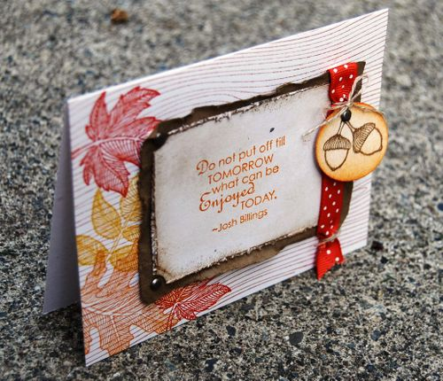 Stampin up Project pics 715