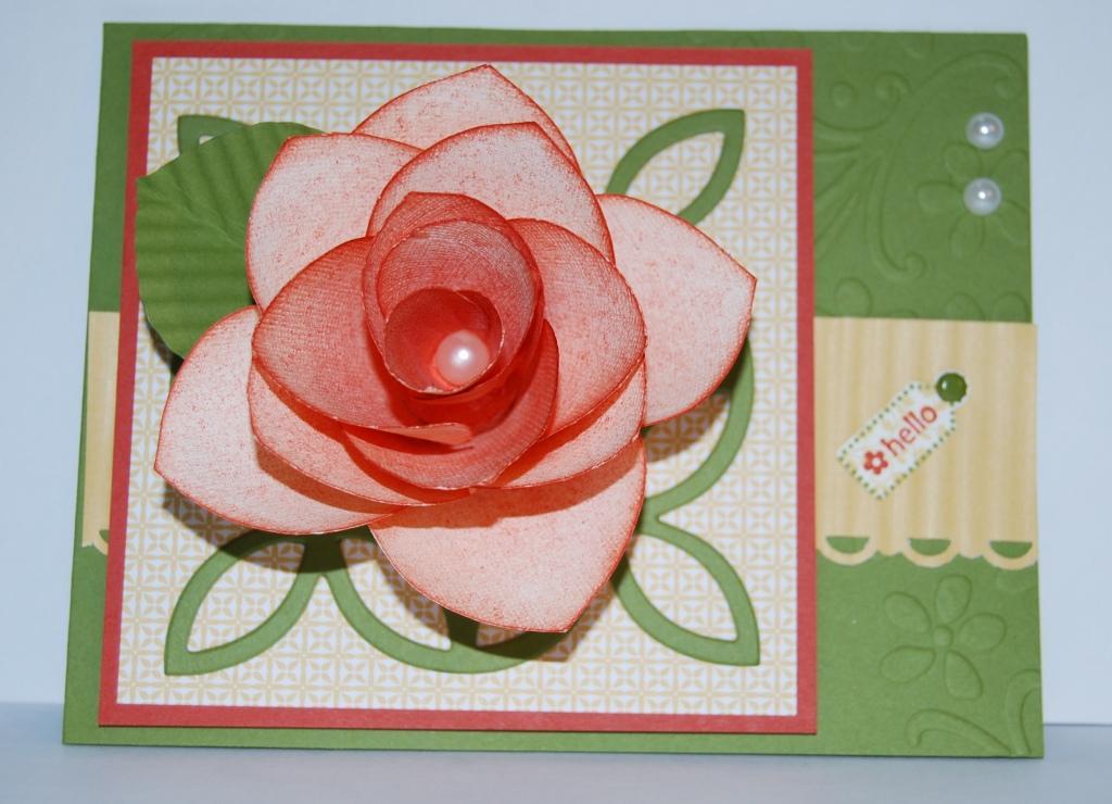 Paper Rose Card 2
