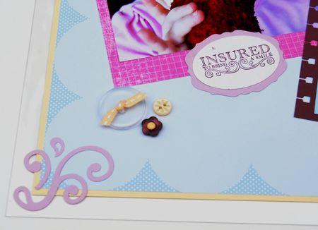 Artisan Cupcake page close up buttons