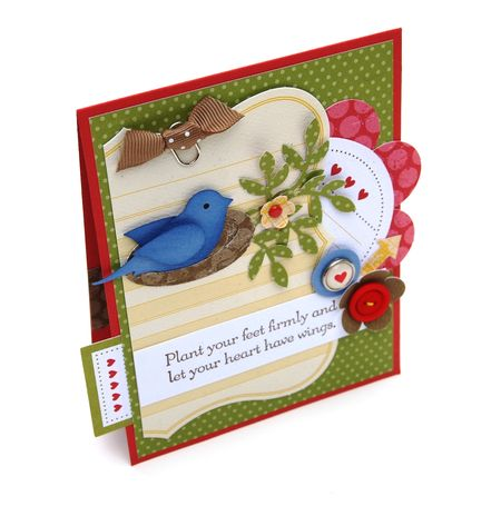 Artisan Bird Card