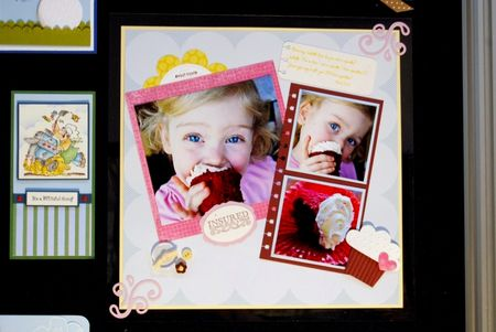 Convention Display Board Cupcake page