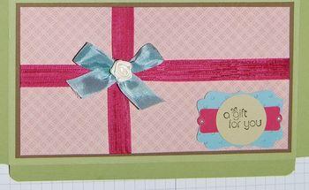 Gift box top