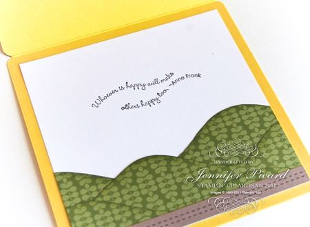 Artisan Smile Sunshine Card inside-3