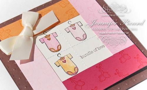 Artisan baby card upclose watermarked