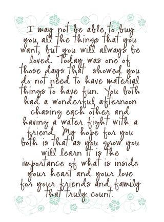 To My Girls Journaling