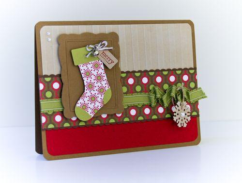 Christmas Lane Stocking