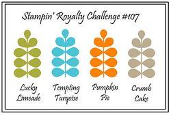Stampin royalty sample #107