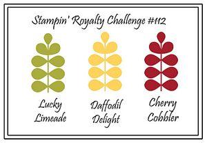 Stampin royalty #112