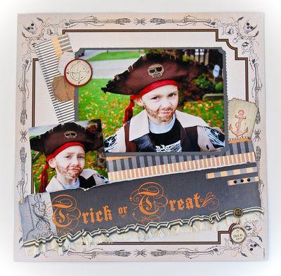 Jennifer Picard Halloween Facebook Project