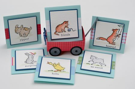 Storeytime Suite Wagon & Note cards Jenn Picard-2
