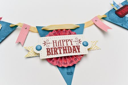 You're Amazing Birthday Banner upclose