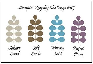 Stampin royalty #115