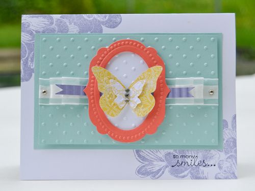So Many Smiles Butterfly Card