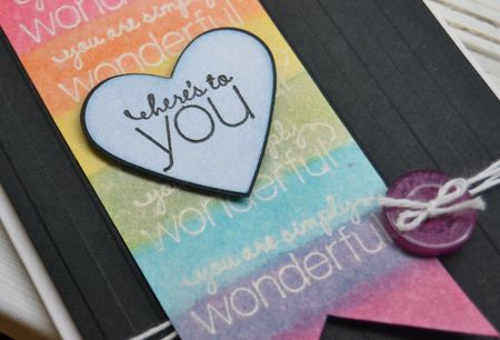Wonerful you card close up
