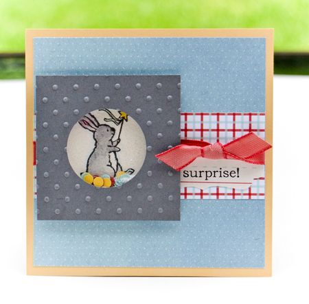 Storybook Friends Shaker card