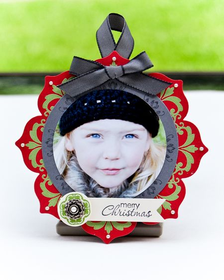 Daydream Medallions Paper Picture Ornament