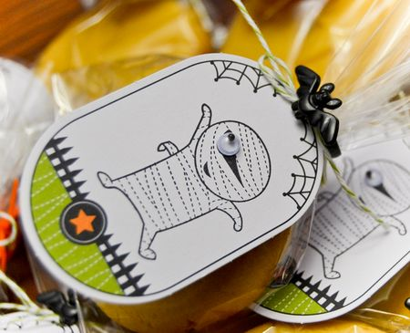 Googlie Ghouls cookie tags