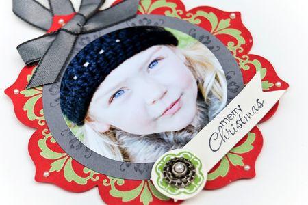 Picture ornament upclose