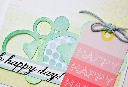 Oh Happy day Ebook card sneak Jenn Picard