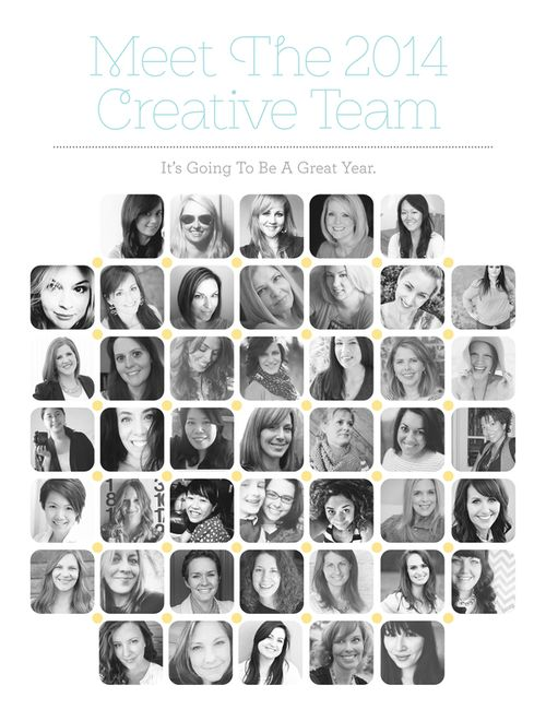 Creative Team 2014 pic
