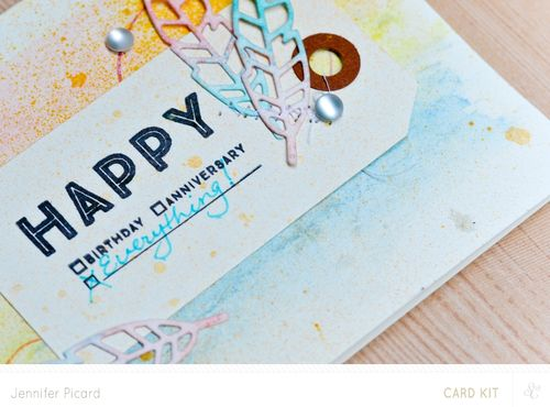 Sneak of Happy card