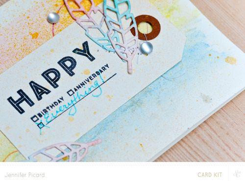 Sneak of Happy card