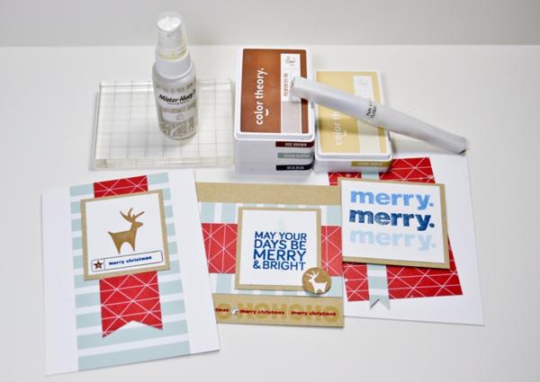 Christmas cards group