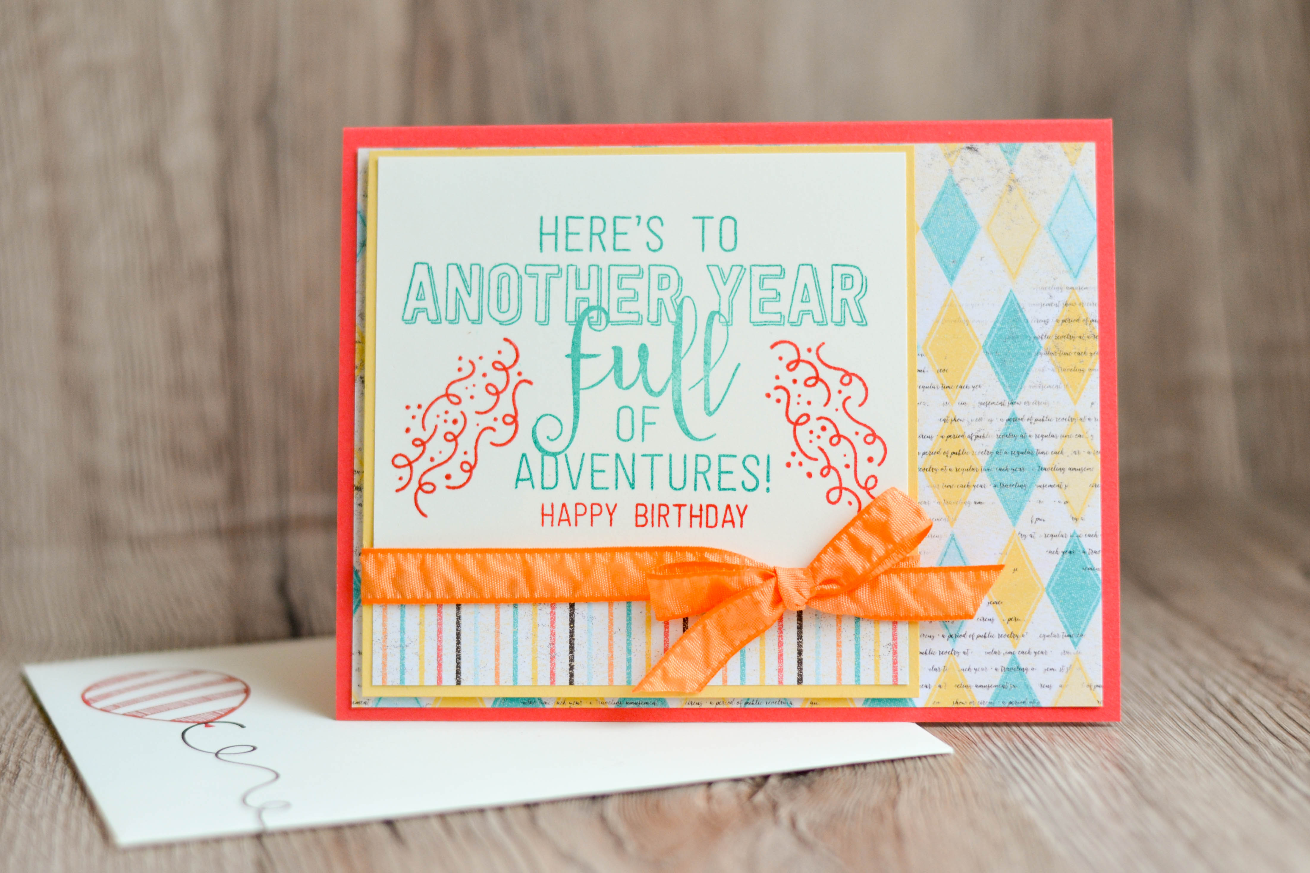 Quick and easy birthday card a new ink on life i try to keep the kids cards relatively simple because lets face it its not like 9 and 10 year olds really look at the card anywaylol bookmarktalkfo Images
