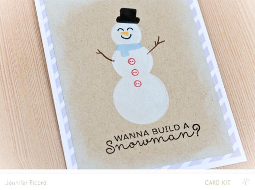 Do you wanna build a snowman close up