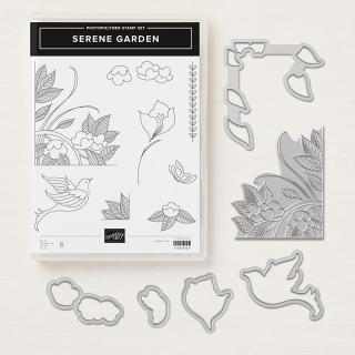 Serene garden image