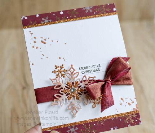 Joyous Noel Snowflake showcase