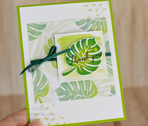 Fancy Friday Tropical Escape Card 2