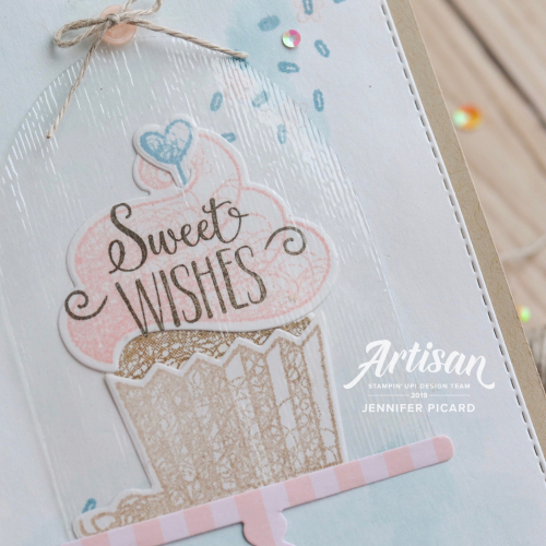 SAB coordination Artisan Blog Hop HelloCupcake close up