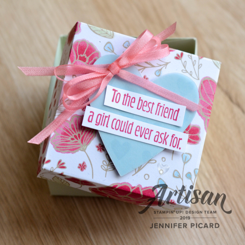 Artisan Blog Hop Box opened January