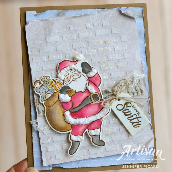 Holly Jolly Christmas Bundle Card Artisan Design Team  Blog Hop Jennifer Picard
