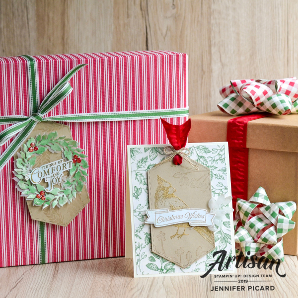 Artisan November Blog Hop Toile Tidings Jennifer Picard