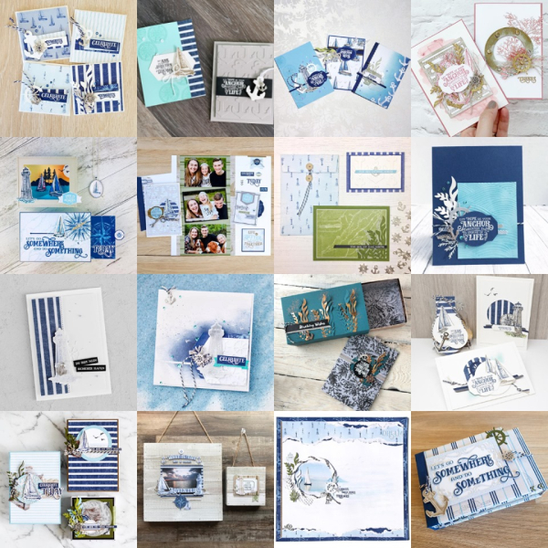 Artisan Come Sail Away Grid June