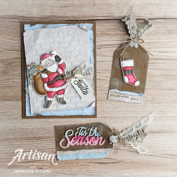 Holly Jolly Christmas Bundle Artisan Design Team  Blog Hop Jennifer Picard