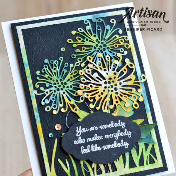 Shimmer Detailed Laser cut paper card
