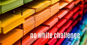 No white challenge