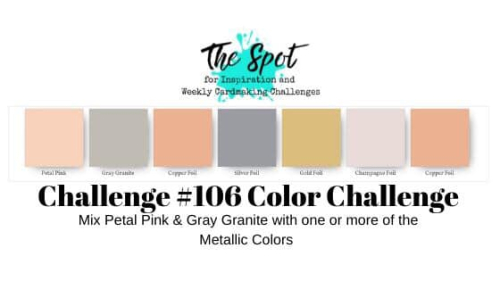 The Spot #106 colour challenge