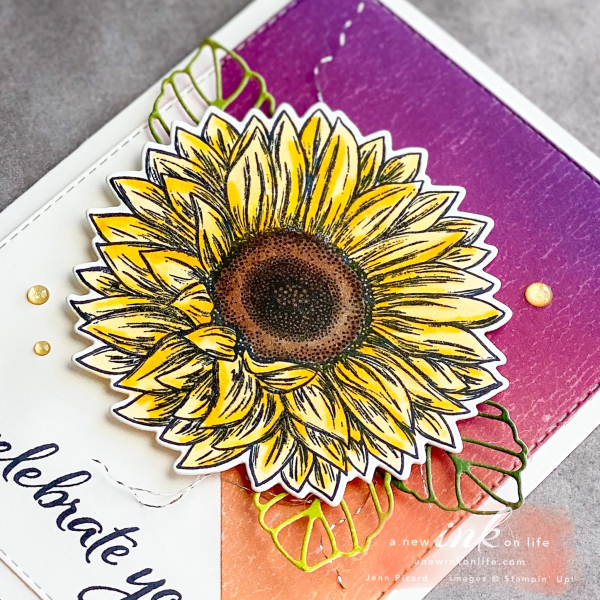 The Spot #117 Sketch Challenge Celebrate Sunflowers (2)
