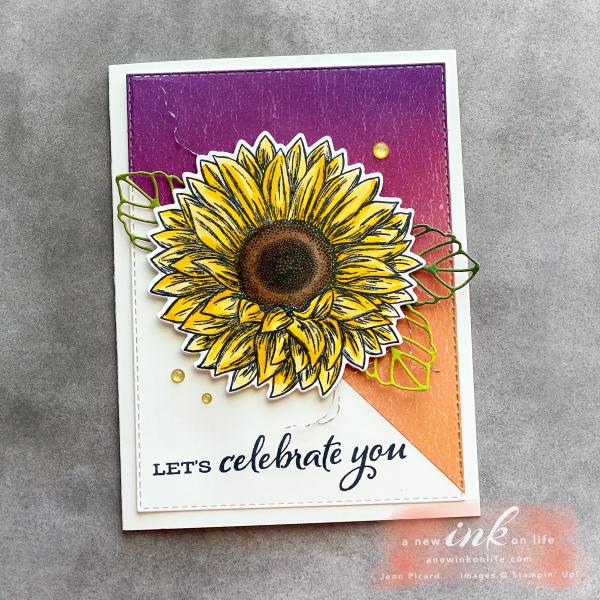 The Spot #117 Sketch Challenge Celebrate Sunflowers (1)