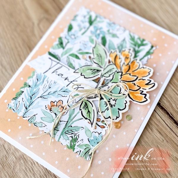 Be Inspired Blog Hop Flower