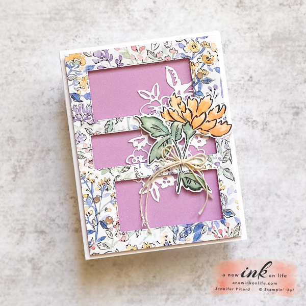 Be Inspired Blog Hop Hand-Penned DSP Card 1