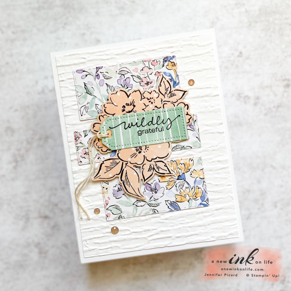 Be Inspired Blog Hop Hand-Penned DSP Card 2