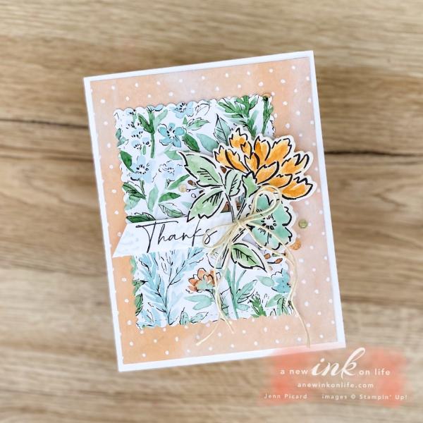 Be Inspired April Blog Hop Flowers